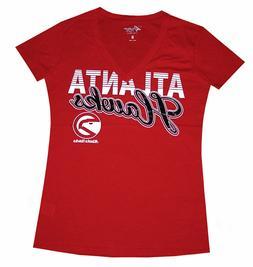 Nba Womens Apparel - Atlanta Hawks Ladies GIII Nba Team Tee