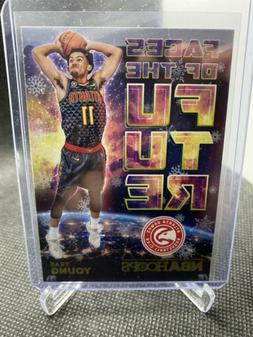 Trae Young Rookie Insert Faces Of The Future Winter Parallel